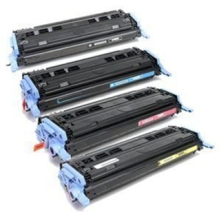 Compatible Canon 707 Rainbow Pack - 4 Toner Cartridges