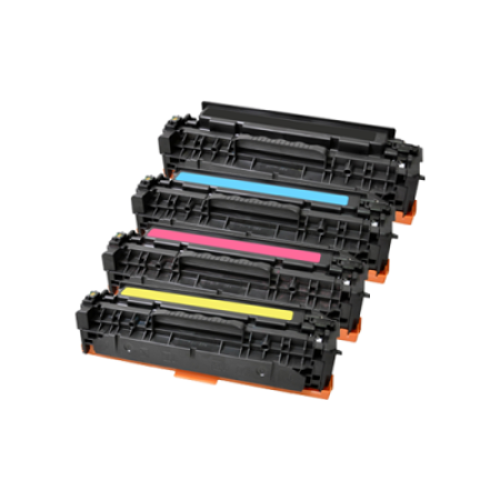 Compatible Canon 718 Toner Cartridge Multipack BK/C/M/Y