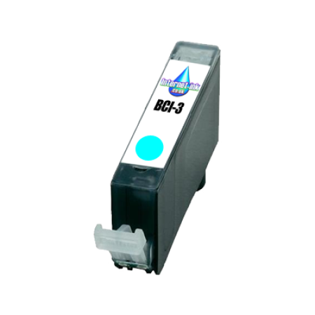 Compatible Canon BCI-3 Cyan Ink Cartridge