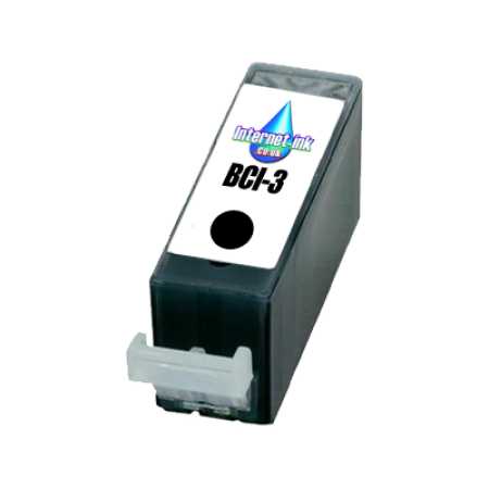 Compatible Canon BCI-3 Large Black Ink Cartridge