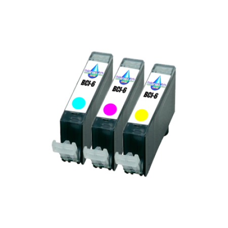 Compatible Canon BCI-6 Ink Cartridge Ink Colour Pack - 3 Inks