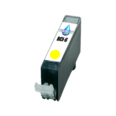 Compatible Canon BCI-6 Yellow Ink Cartridge