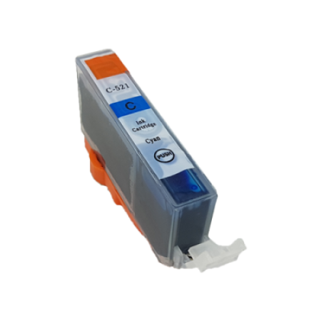 Compatible Canon CLI-521 Cyan Ink Cartridge
