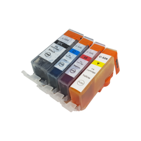 Compatible Canon CLI-526 Ink Cartridge Colour Multipack + PGI-525 BK/C/M/Y