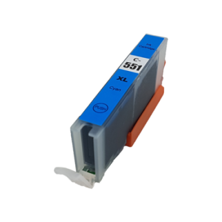Compatible Canon CLI-551XL Cyan Ink Cartridge