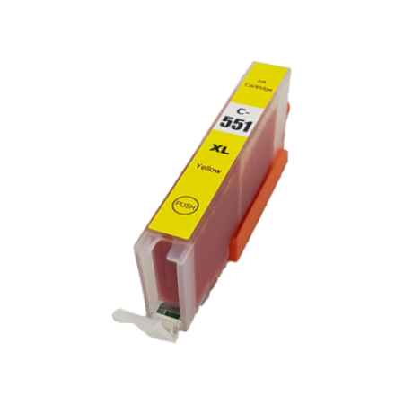 Compatible Canon CLI-551XL Yellow Ink Cartridge