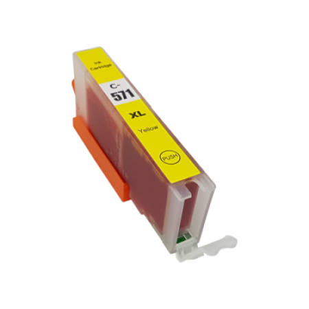 Compatible Canon CLI-571XL Ink Cartridge Yellow