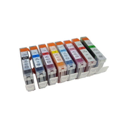 Compatible Canon CLI-8 Ink Cartridge Multipack BK/C/M/Y/LC/LM/R/G