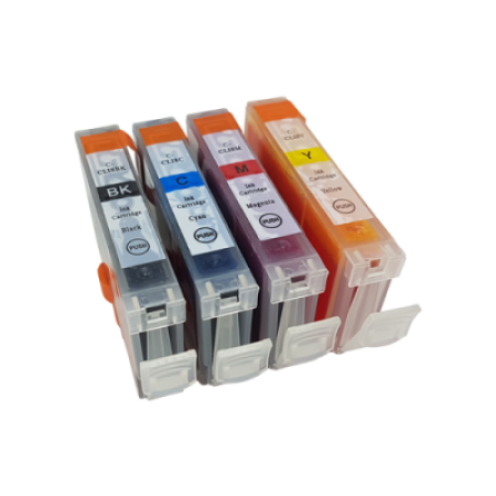 Compatible Canon CLI-8 Ink Cartridge Multipack BK/C/M/Y