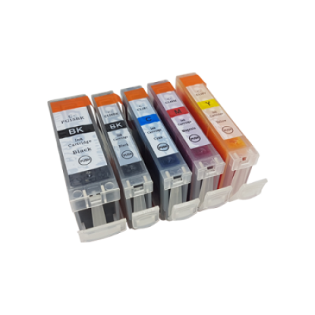 Compatible Canon CLI-8 Ink Cartridge Multipack + PGI-5 BK/C/M/Y/PBK