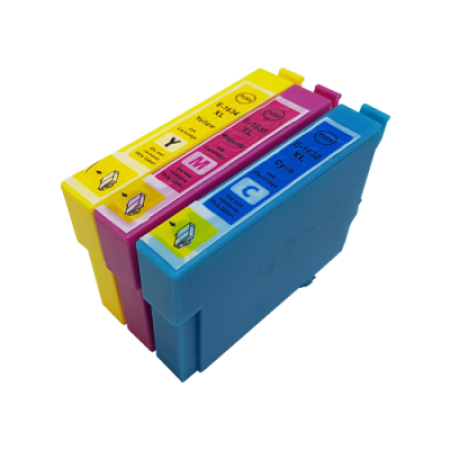 Compatible Epson 16XL Ink Cartridge Colour Pack [3 Pack] C/M/Y