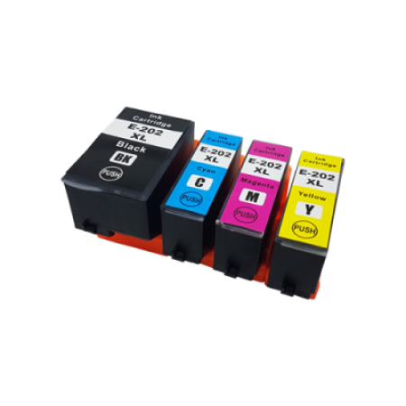 Compatible Epson 202XL Multipack Ink Cartridges BK/C/M/Y