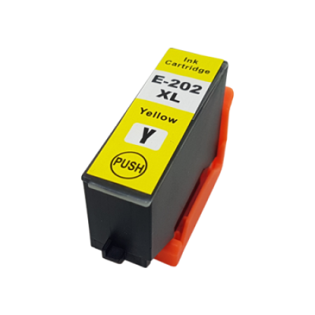 Compatible Epson 202XL Ink Cartridge Yellow