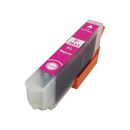 Compatible Epson 26XL T2633 Magenta Ink Cartridge