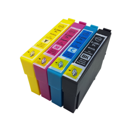 Compatible Epson 29XL Multipack T2986 Ink Cartridges BK/C/M/Y