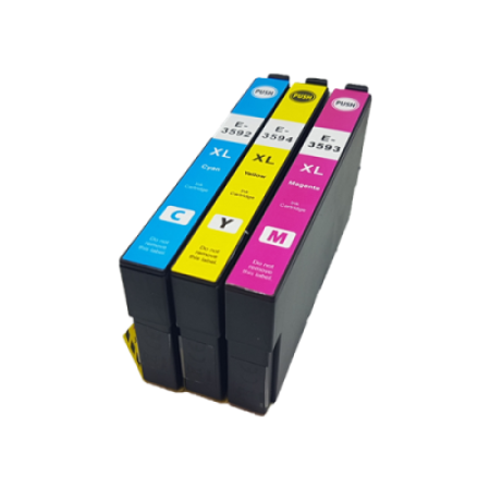 Compatible Epson 35XL T3592/3/4 Ink Cartridge Colour Pack C/M/Y