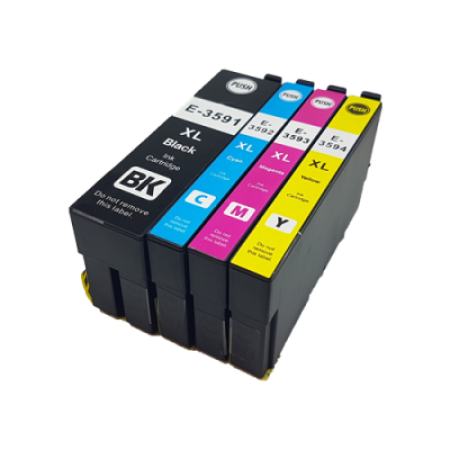 Compatible Epson 35XL Multipack T3596 Ink Cartridge BK/C/M/Y