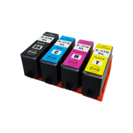 Compatible Epson 378XL Multipack Ink Cartridges BK/C/M/Y