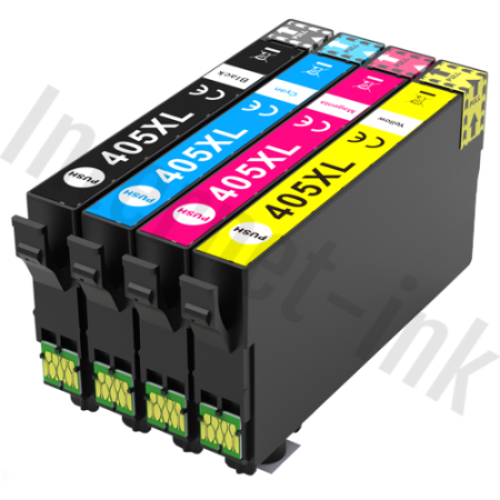 Compatible Epson 405XL Multipack Ink Cartridges