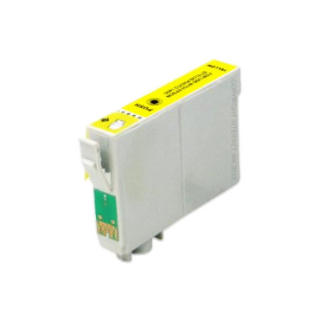 Compatible Epson T0554 Yellow Ink Cartridge