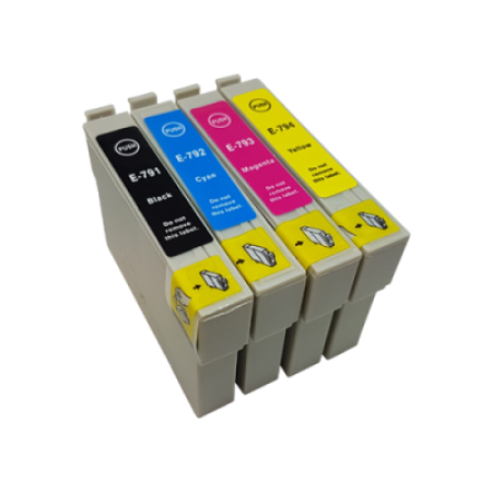 Compatible Epson T0791-T0794 Ink Cartridge Multipack BK/C/M/Y