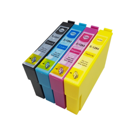 Compatible Epson T1285 Multipack (T1281/2/3/4) Ink Cartridges BK/C/M/Y