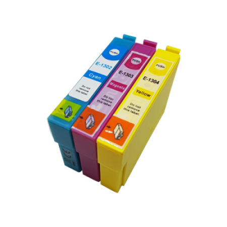 Compatible Epson T1306 Ink Cartridge Colour Multipack C/M/Y