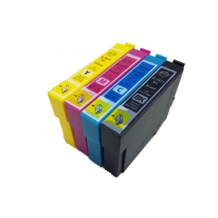 Compatible Epson 18XL Multipack T1806 Ink Cartridges BK/C/M/Y