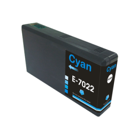 Compatible Epson T7022XL Ink Cartridge Cyan