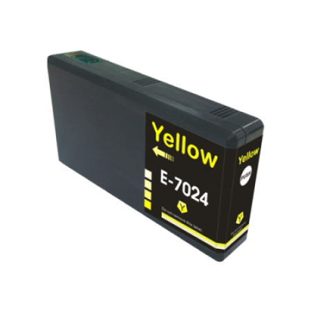 Compatible Epson T7024XL Yellow Ink Cartridge