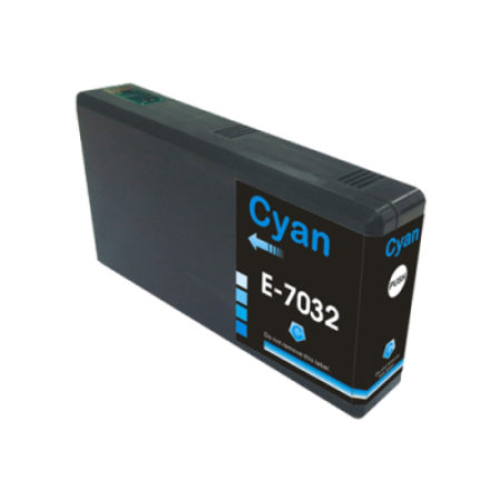 Compatible Epson T7032 Ink Cartridge Cyan