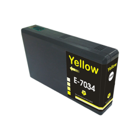 Compatible Epson T7034 Yellow Ink Cartridge
