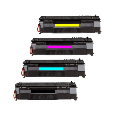 Compatible HP 201X Multipack Toner Cartridges BK/C/M/Y (CF400/1/2/3X)