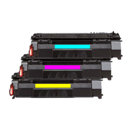 Compatible HP 201X Toner Cartridge Colour Multipack C/M/Y
