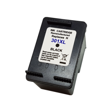 Compatible HP 301XL Black Ink Cartridge 15ml