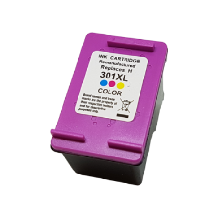 Compatible HP 301XL Ink Cartridge Colour C/M/Y 18ml