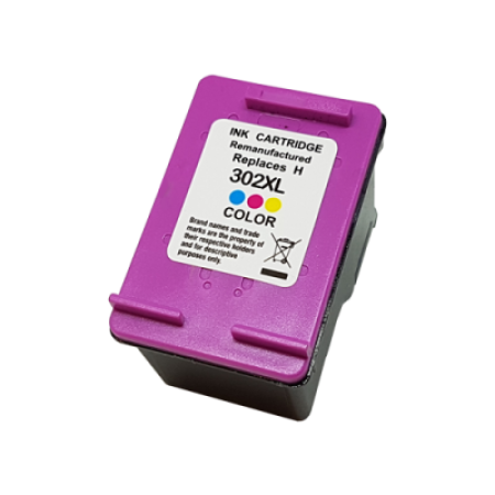 Compatible HP 302XL Ink Cartridge Colour C/M/Y 21ml