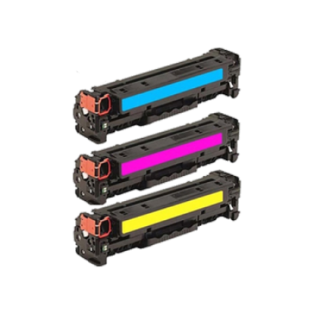 Compatible HP 312A Toner Cartridge Colour Multipack C/M/Y