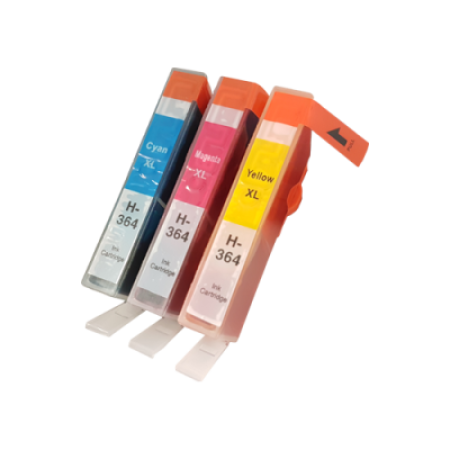 Compatible HP 364XL Ink Cartridge Colour Triple Pack C/M/Y
