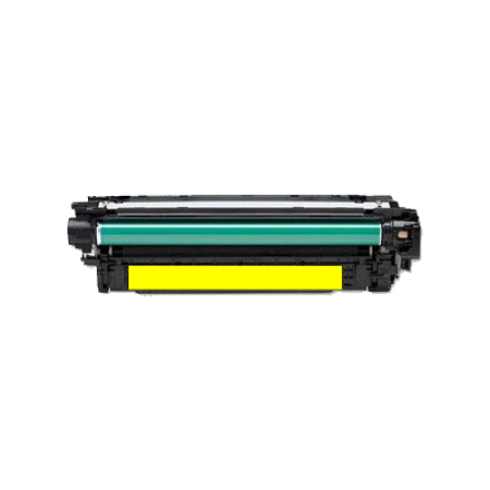 Compatible HP 507A CE402A Yellow Toner Cartridge