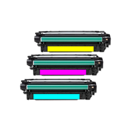 Compatible HP 507A Toner Cartridge Colour Pack - 3 Toners