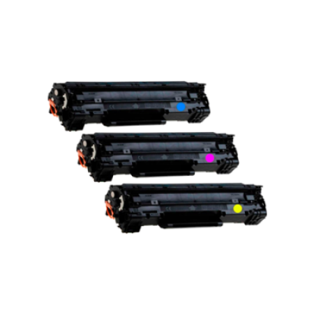 Compatible HP 508X Toner Cartridge Colour Pack - 3 Toners