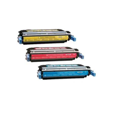 Compatible HP 643A Toner Cartridge Colour Pack - 3 Toners
