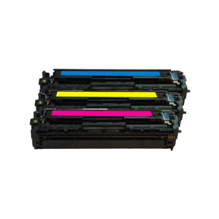 Compatible HP 650A Toner Cartridge Colour Pack - 3 Toners