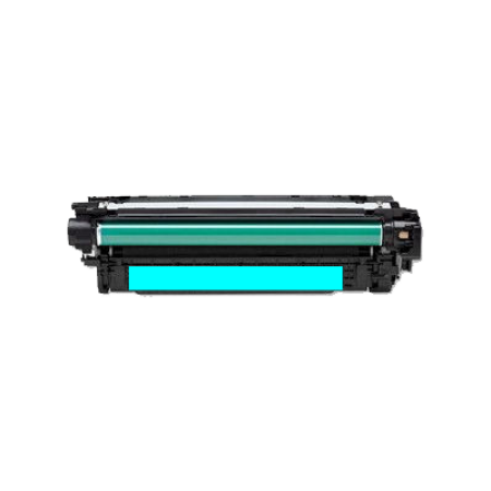 Compatible HP 651A CE341A Cyan Toner Cartridge