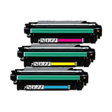 Compatible HP 651A Toner Cartridge Colour Pack 3 Toners