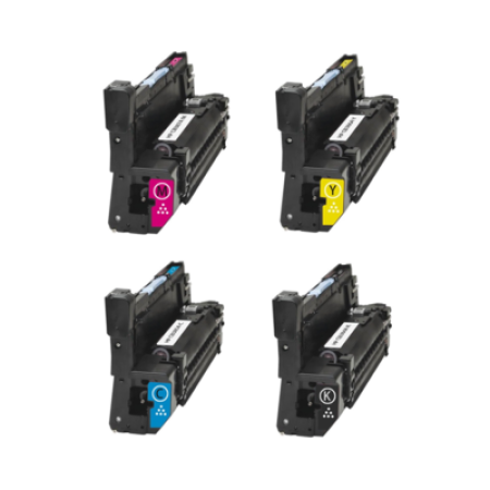 Compatible HP 824A CB384A Drum Cartridge Bundle Pack 4 Drum Units