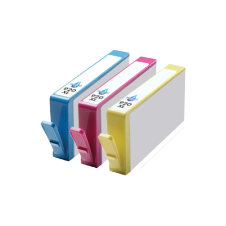 Compatible HP 920XL Ink Colour Multipack C/M/Y