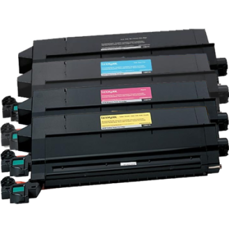 Compatible Lexmark 0012N07 Rainbow Toner Cartridge Pack
