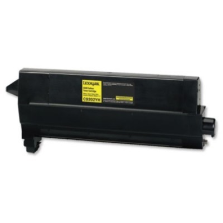 Compatible Lexmark 00C9202YH Yellow Toner Cartridge
